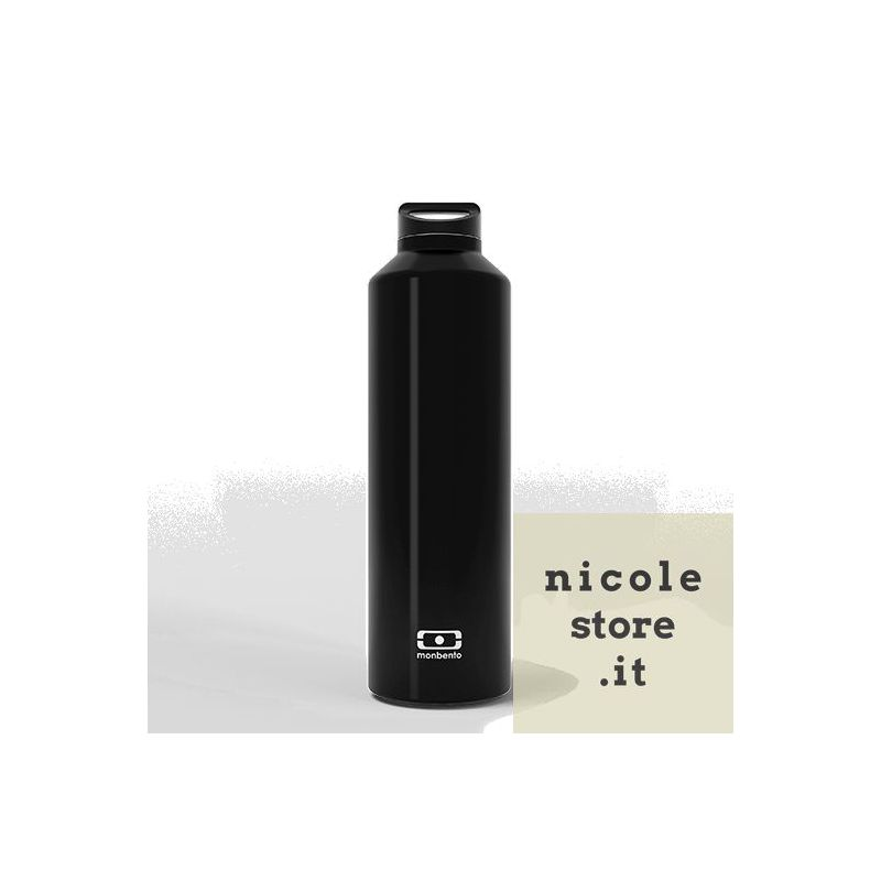 MB Steel Onyx thermos insulated bottle by Monbento