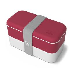 Monbento MB Original Marsala e Bianco - Marsala - Lunch Box by Monbento