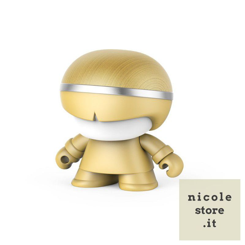 Xoopar Boy Mini Xboy Gold Limited Edition Bluetooth Speaker by Xoopar