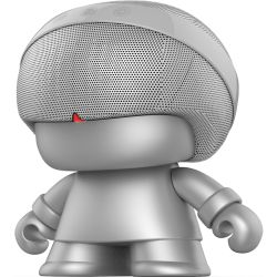 Xoopar Boy Grand Xboy Silver Bluetooth Speaker by Xoopar