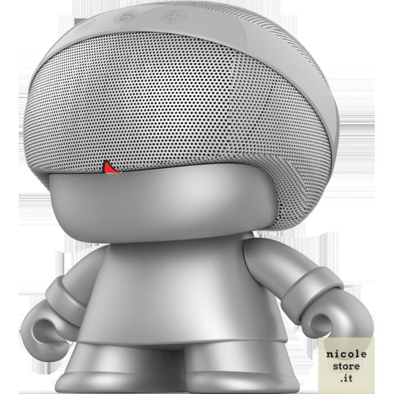 Xoopar Boy Grand Xboy Argento (Silver) Bluetooth Speaker by Xoopar