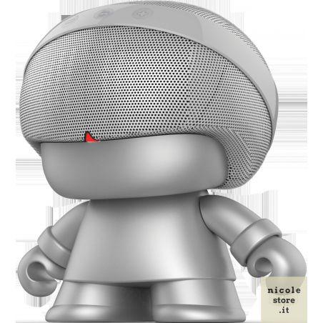 Xoopar Boy Grand Xboy Silver Bluetooth Speaker by Xoopar
