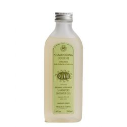 Shampoo Shower Gel OLIVIA with Olive Oil - certified organic - by Marius Fabre