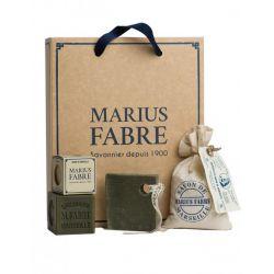 """Cofanetto regalo """"Scopri il sapone di Marsiglia"""" NATURE by Marius Fabre"""
