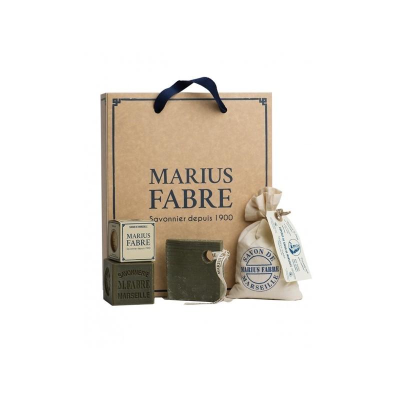 "Casket ""Discover Marseille soap"" - NATURE - by Marius Fabre"