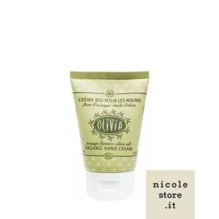 Olive Oil Hand Cream - certified organic - OLIVIA - by Marius Fabre