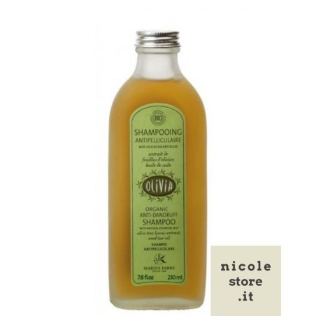 Shampoo 230ml OLIVIA antiforfora certificato Biologico by Marius Fabre