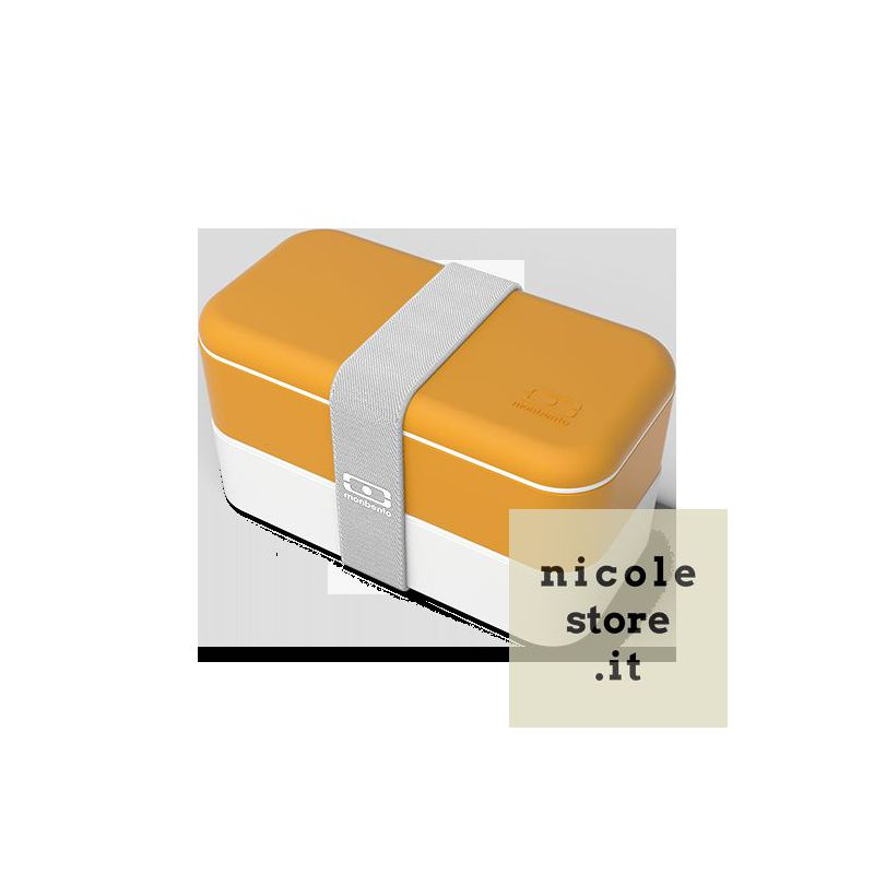 Monbento MB Original Moutarde - mustard yellow - lunch box by Monbento