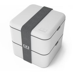 Monbento MB Square grigio Coton Lunch Box by Monbento