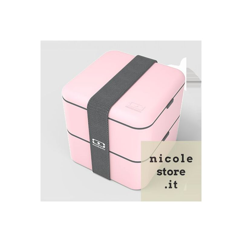 Monbento MB Square rosa Litchi Lunch Box by Monbento