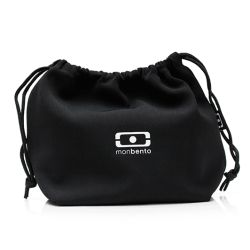 MB Pochette black Onyx lunchbox sleeve bag for Monbento