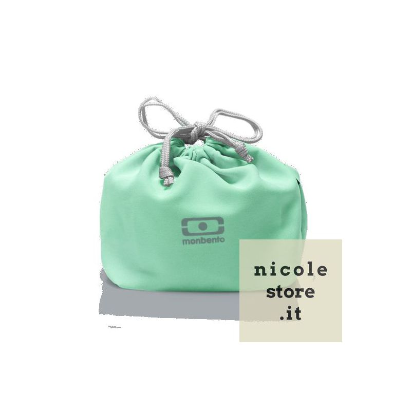 MB Pochette green Matcha lunchbox sleeve bag for Monbento