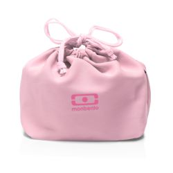 MB Pochette pink Litchi lunchbox sleeve bag for Monbento