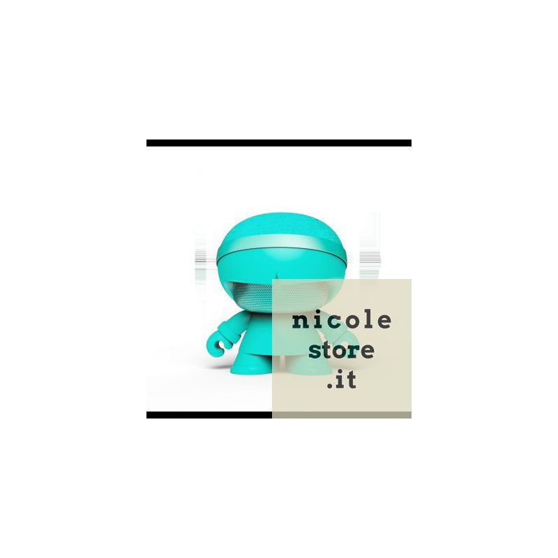 Xoopar Boy Xboy Glow Stereo Mint (Menta) bluetooth wireless speaker by Xoopar
