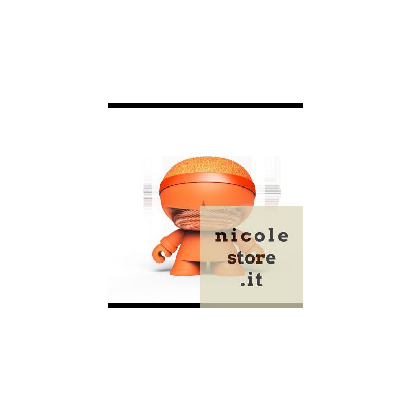 Xoopar Boy Xboy Glow Stereo Orange bluetooth wireless stereo speaker by Xoopar