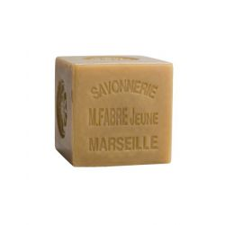 600gr Cubic Natural Marseille soap for laundry use by Marius Fabre