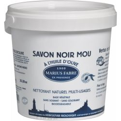 Marius Fabre Original Black Soap in Paste 5 Kg -  Savon Noir - Olive Oil  -  by Marius Fabre