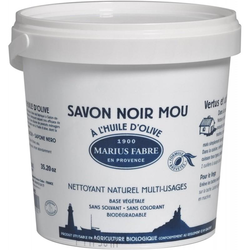Sapone Nero Mou Marius Fabre Multiuso in pasta di Marsiglia (5Kg) LAVOIR by Marius Fabre
