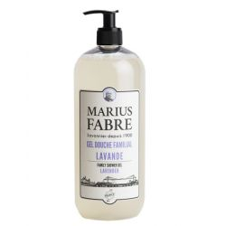 Family Shower Gel Lavender parfumed (1L) 1900 by Marius Fabre