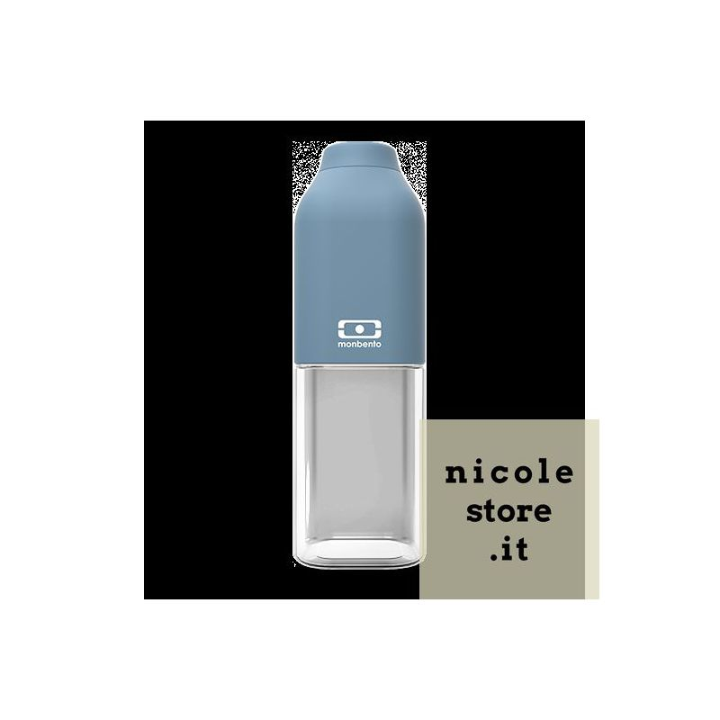 MB Positive M blu Denim bottiglia Tritan riutilizzabile by Monbento