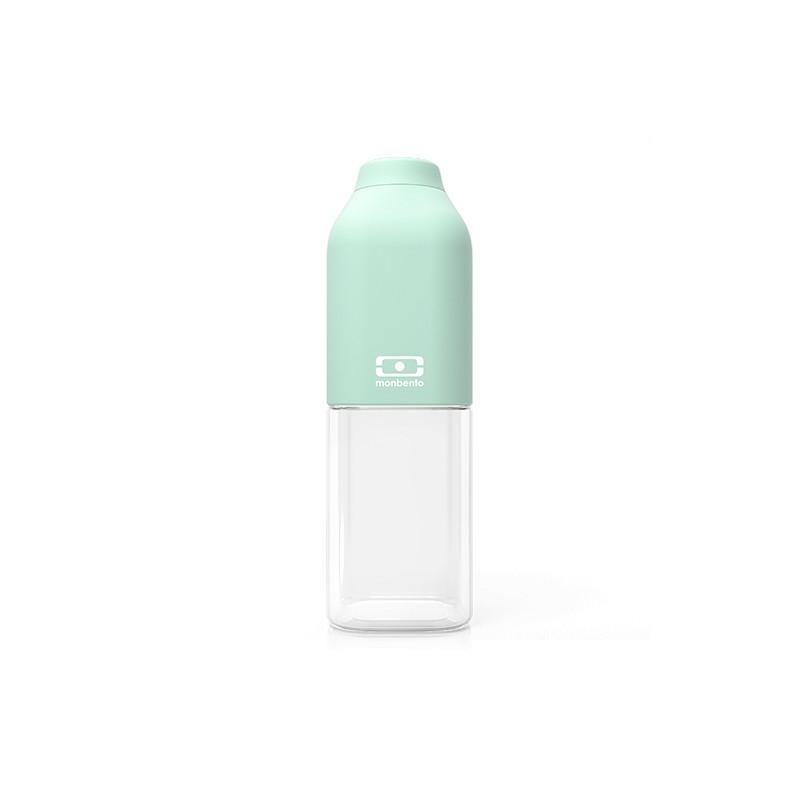 MB Positive M green Matcha reusable Tritan bottle by Monbento