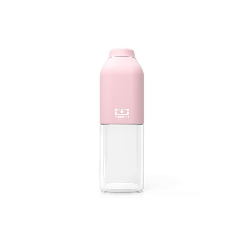 MB Positive M rosa Litchi bottiglia Tritan riutilizzabile by Monbento