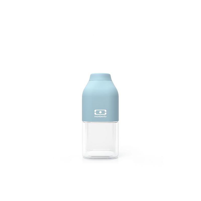 MB Positive S blu Iceberg bottiglia Tritan riutilizzabile by Monbento