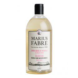 Marseille liquid soap Wild Rose flavoured (1L) 1900 by Marius Fabre