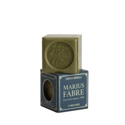 100 gr Cube Extra Pure Marseille Vegetal Olive Oil Soap 72% By Marius Fabre