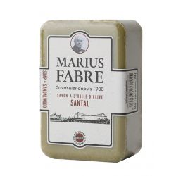 Sapone Puro di Marsiglia Aromatizzato al Sandalo 250gr 1900 by Marius Fabre