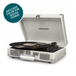Crosley Cruiser Deluxe White Sand by Crosley