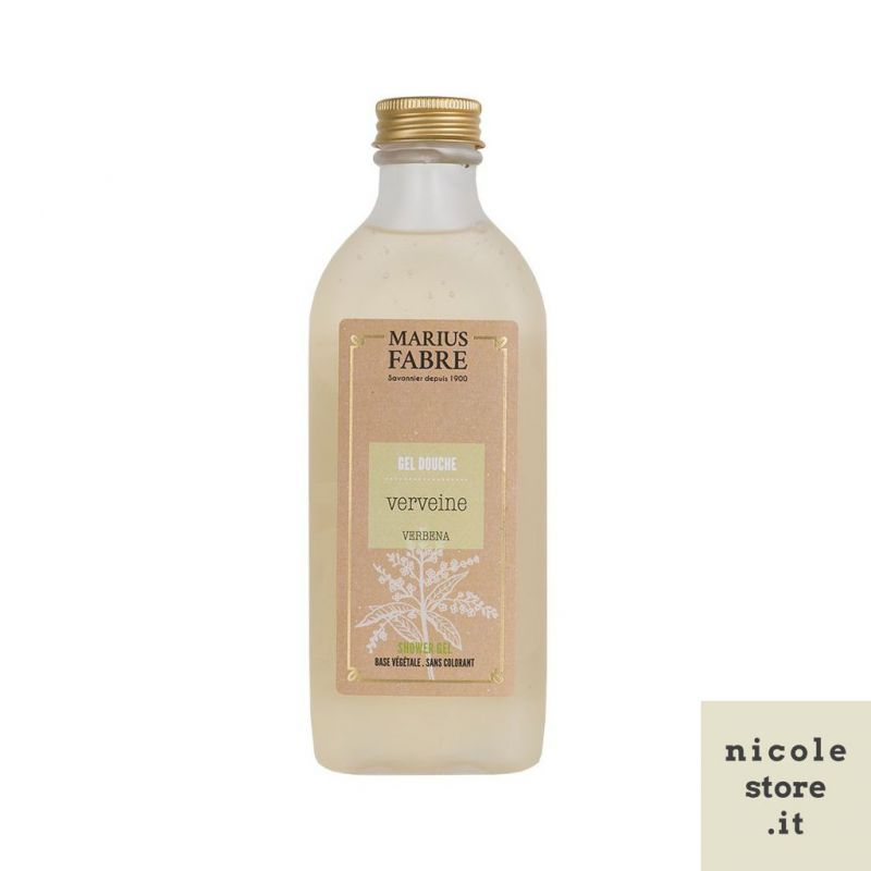 Shower Gel Verbena flavored 230ml Bien-Être by Marius Fabre