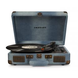 Crosley Cruiser Deluxe Denim by Crosley