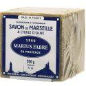Sapone di Marsiglia extra puro 72%  all'Olio d'Oliva in Cubo da 200gr  NATURE by  Marius Fabre