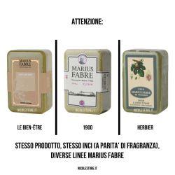 Marseille Santal perfumed pure olive oil soap (250gr) Herbier by Marius Fabre