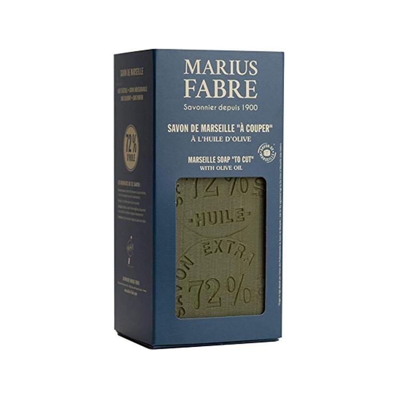 Sapone di Marsiglia extra puro 72%  all'Olio d'Oliva in Cofanetto da 1Kg  NATURE by  Marius Fabre