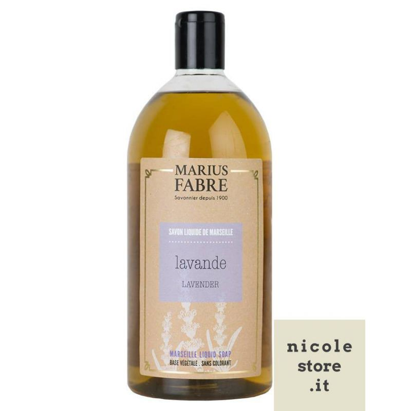 Marseille liquid soap Lavender flavoured (1L) Le Bien Etre by Marius Fabre