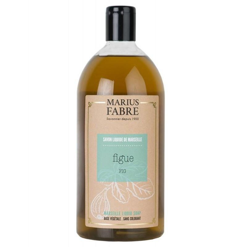 Marseille liquid soap Fig flavoured (1L) Le Bien Etre by Marius Fabre