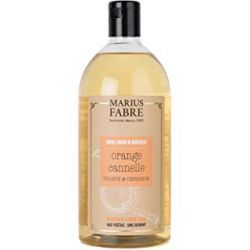 Marseille liquid soap Cinnamon & Orange Zest flavoured (1L) Le Bien-être by Marius Fabre