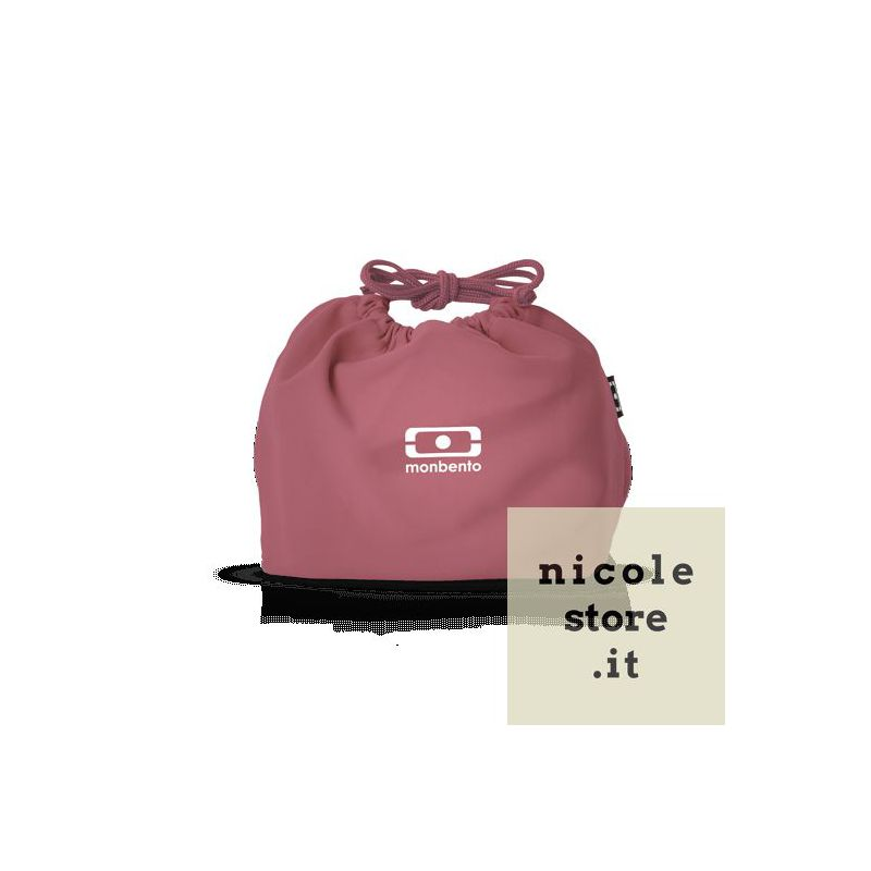 MB Pochette pink Blush lunchbox sleeve bag for Monbento