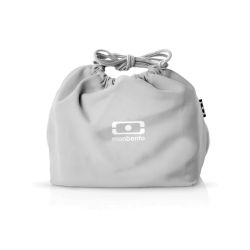 MB Pochette grey Coton lunchbox sleeve bag for Monbento