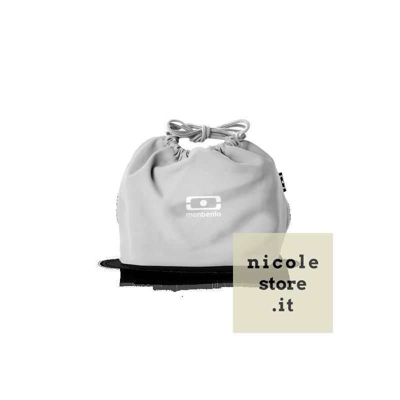 MB Pochette grigio Coton borsa custodia porta lunchbox di Monbento