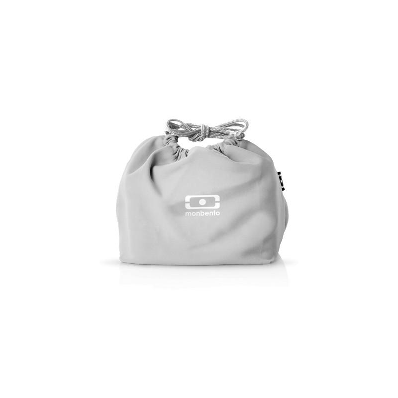MB Pochette grey Coton lunchbox sleeve bag for Monbento