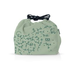 MB Pochette graphic English Garden lunchbox sleeve bag for Monbento