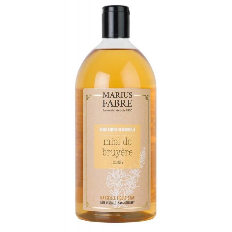 Marseille liquid soap Heather Honey flavoured (1L) Le Bien-être by Marius Fabre