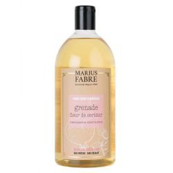 Marseille liquid soap Cherry blossom and Pomegranate  flavoured (1L) Le Bien-être by Marius Fabre
