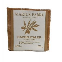 Alep Soap 30%, 170gr by Marius Fabre