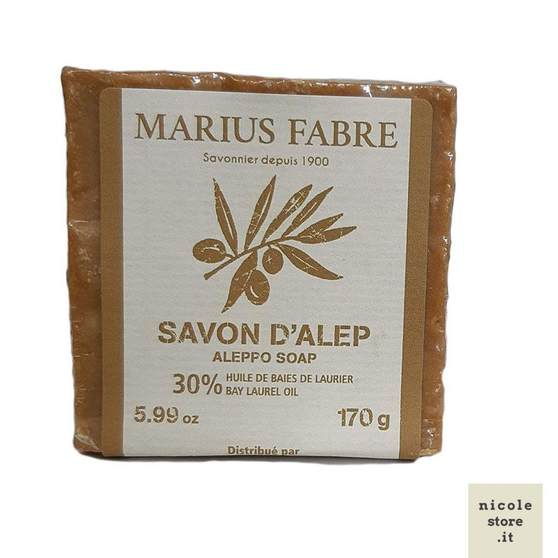 Alep Soap 30%, 170gr by Marius Fabre