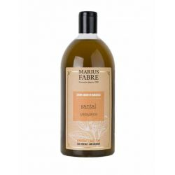 Marseille liquid soap Sandalwood flavoured (1L) Le Bien-être by Marius Fabre