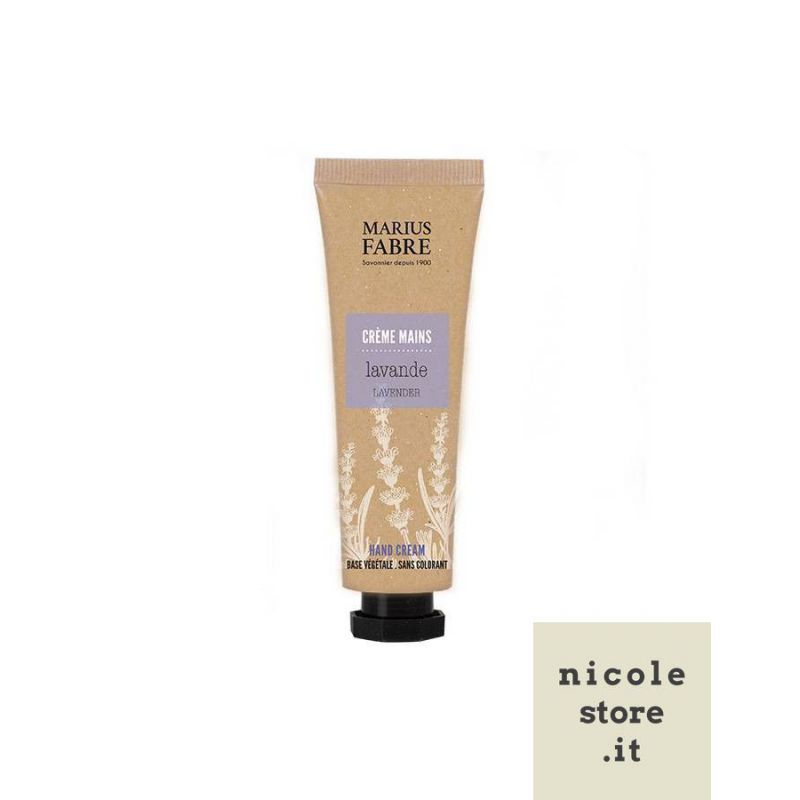 Moisturizing Hand Cream Lavender flavored 50ml Bien-Être by Marius Fabre